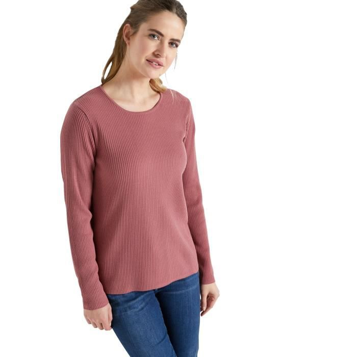 Pull chaussette, col rond