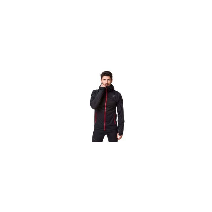 Veste Running RAIDLIGHT Homme imperméable Raidshell MP+ Noir AH 2019