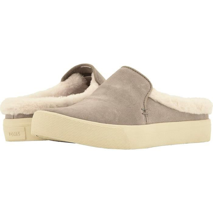 Bottines Professionnelles TOMS WTW81 Slip-On Chaussures Sunrise Suede Taille-36 1-2