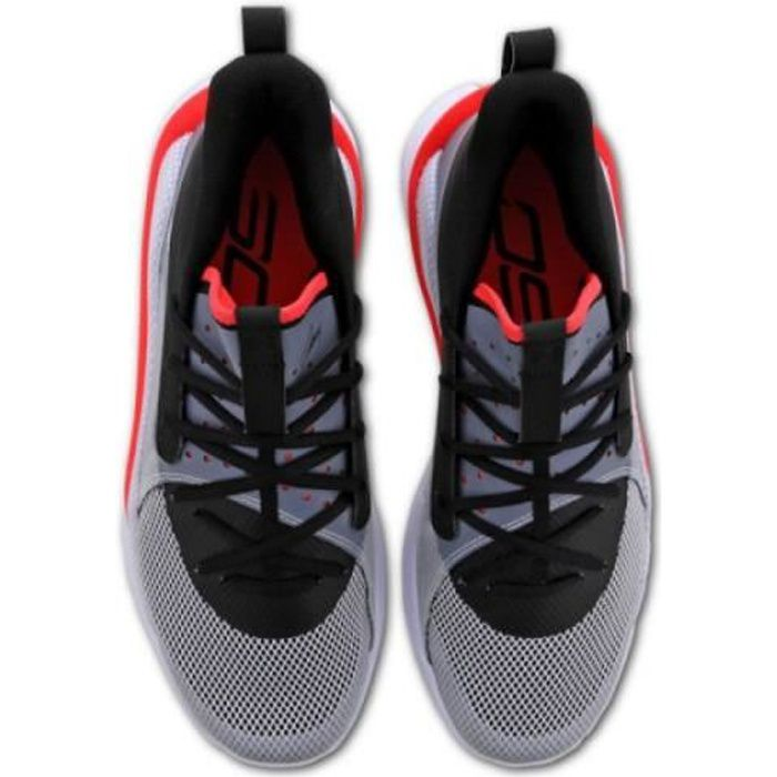 Chaussure de Basketball Under Armour Curry 7 -UNDRTD- Gris pour Enfant