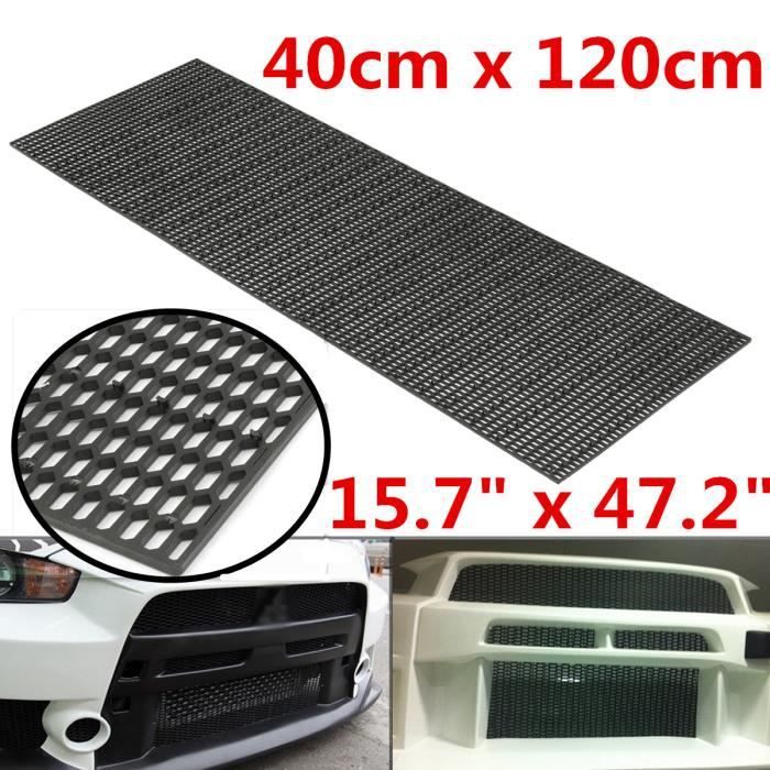 NEUFU Voiture Grille Universel 40x120cm Grille Honeycomb Vent Tuning Racing Mesh