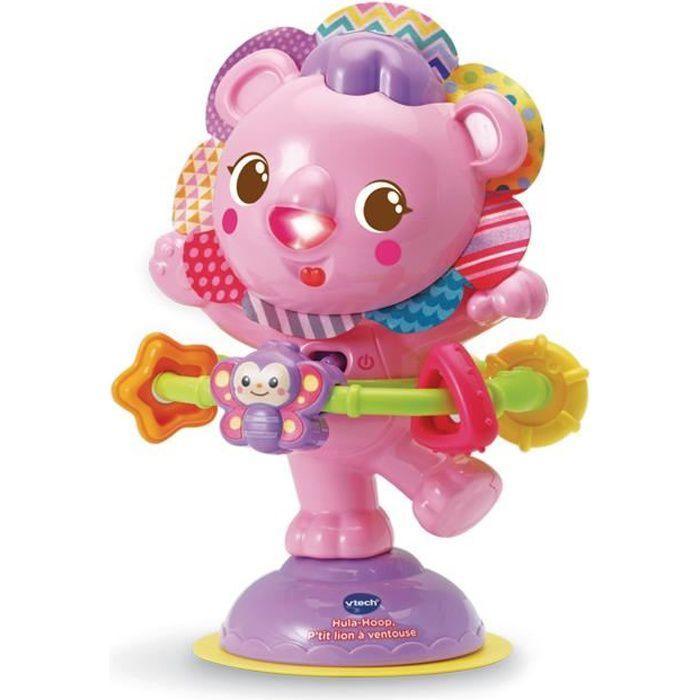VTECH - 528055 - Hula Hoop, P'tit Lion à ventouse - Rose