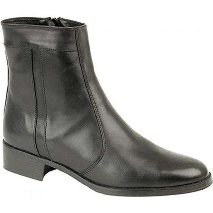Garçons Clarks En Cuir Marron à Lacets Fermeture Éclair Décontracté Bottines Chaussures Taille dexy Haut