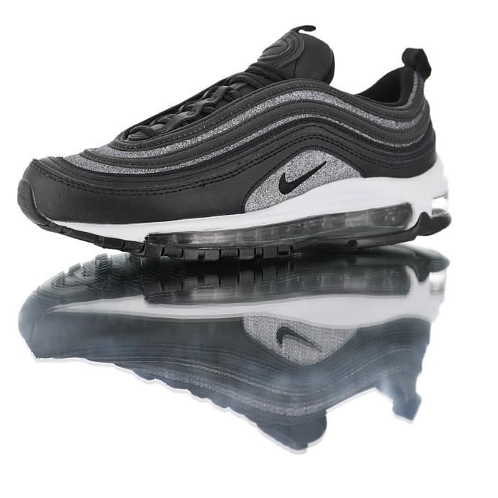 "2018 shoes great look separation shoes Nike WMNS Air Max 97 Premium""Glitter Black"", Chaussures ..."