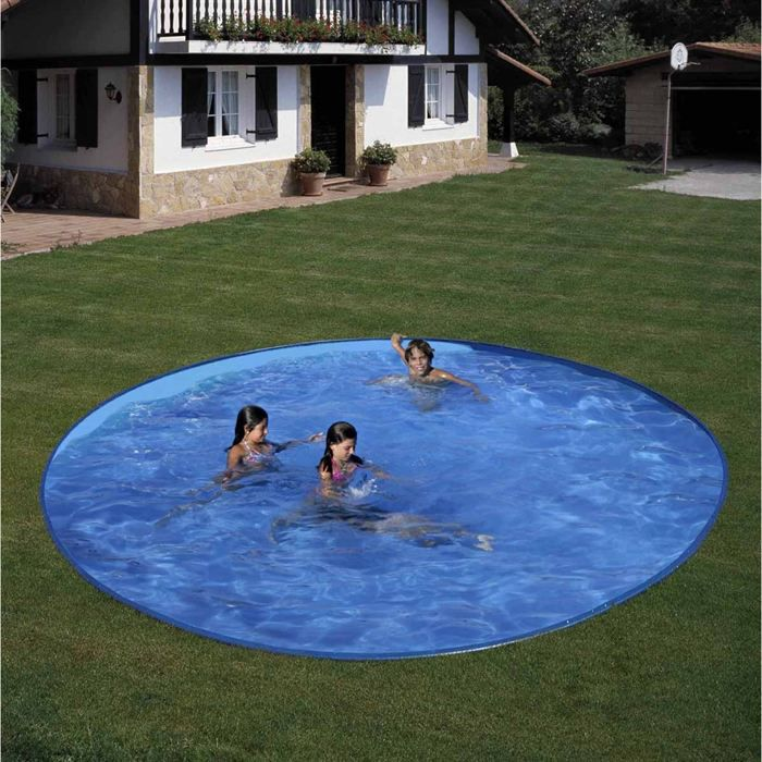 Starpool piscine enterr e 350 x 350 x 150 cm achat for Piscine tubulaire 3 05 pas cher