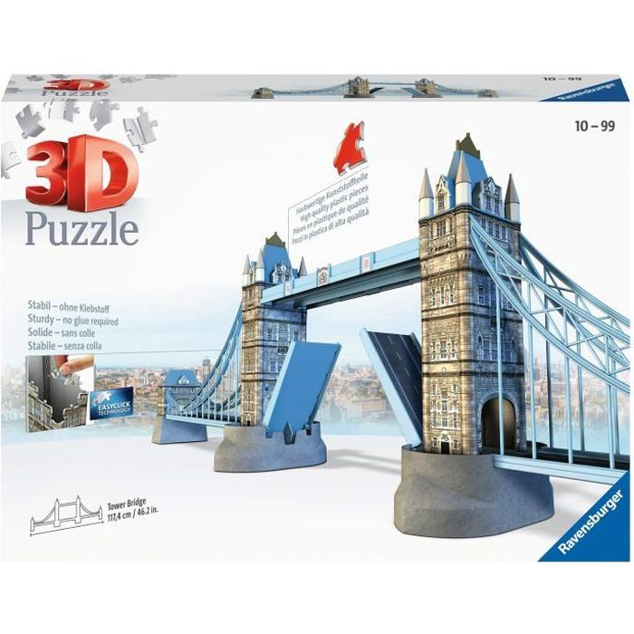 puzzles 3d achat vente puzzles 3d pas cher cdiscount. Black Bedroom Furniture Sets. Home Design Ideas