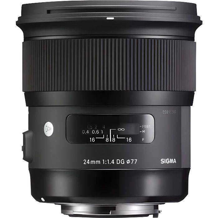 OBJECTIF SIGMA 24mm f/1,4 ART Nikon