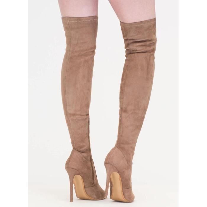 Knee High Pointy Toe Stilleto Boots Louisa S6TAK Taille-41