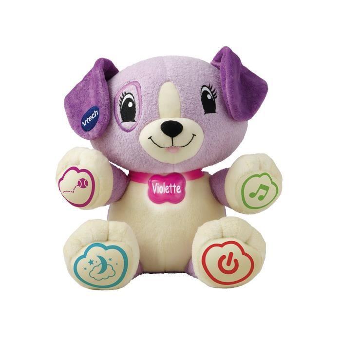 VTECH BABY - Peluche Interactive Enfant - Mon Amie Violette