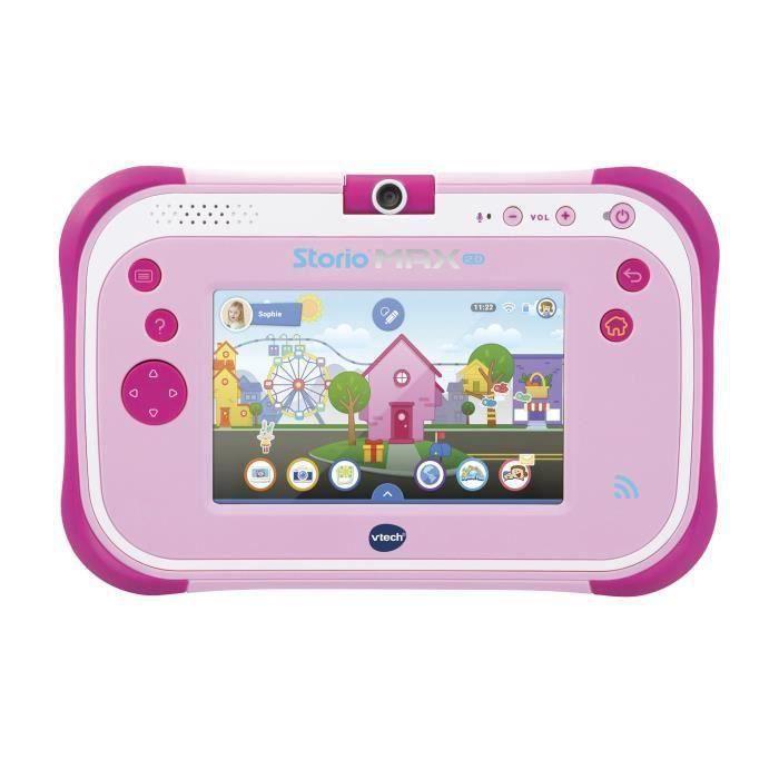 VTECH - Console Storio Max 2.0 5- Rose - Tablette Éducative Enfant 5 Pouces