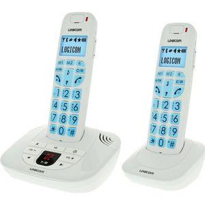 Téléphone fixe Logicom Confort 255T Duo Téléphone fixe Sans Fil R