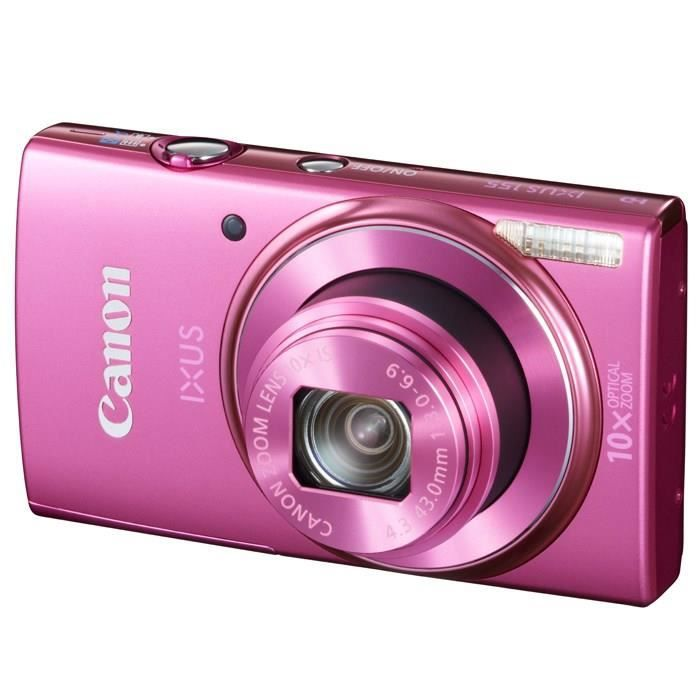 canon ixus 155 compact rose ccd 20mp zoom 10x achat. Black Bedroom Furniture Sets. Home Design Ideas
