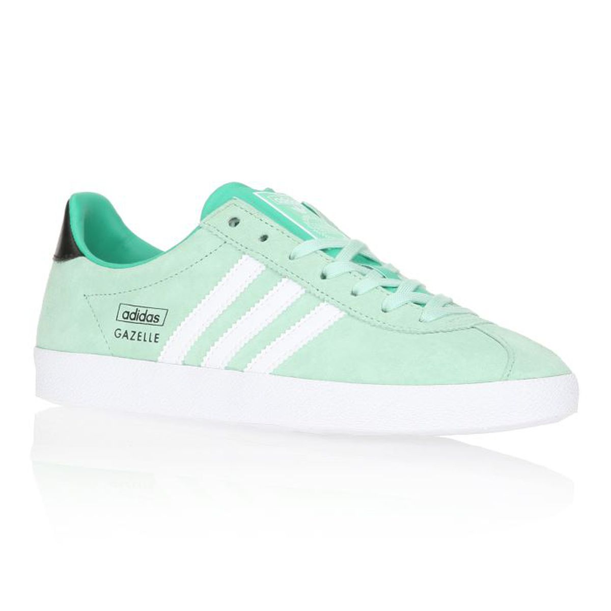 adidas originals baskets gazelle og femme femme vert d 39 eau et blanc achat vente adidas. Black Bedroom Furniture Sets. Home Design Ideas