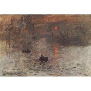 AFFICHE - POSTER Claude Monet Poster Reproduction - Impression, Ris