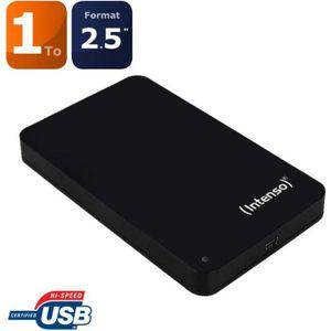 DISQUE DUR EXTERNE Intenso Portable Memory Station 1000 Go noir