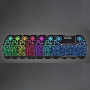 CLAVIER D'ORDINATEUR Mini-clavier sans fil avec pavé tactile rechargeab
