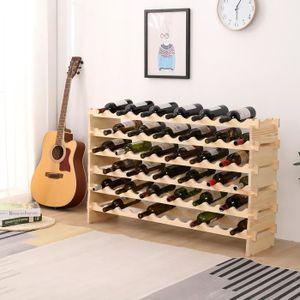 MEUBLE RANGE BOUTEILLE (Range 72 bouteilles) Étagère à Vin Modulable Supp