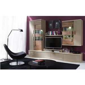 MEUBLE TV Meuble TV CHANELL 280 cm - Ensemble meuble TV