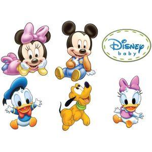STICKERS Stickers autocollant Mickey Minnie Pluto Donald Da