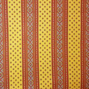 TISSU Tissu au mètre coton  provençale Soleil jaune R li