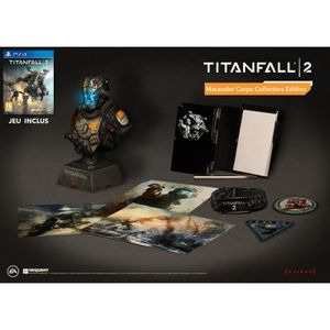 JEU PS4 Titanfall 2 Marauder Corps Collector Edition : Pla