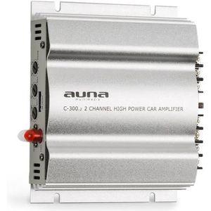 AMPLIFICATEUR AUTO auna C300.2 Amplificateur de voiture 2 canaux pour