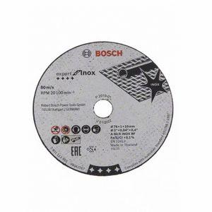 ACCESSOIRE MACHINE Disque à Tronconner Expert for Inox 76 mm - BOSCH