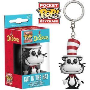 PORTE-CLÉS Porte clé Funko Pop! Dr. Seuss : Cat In The Hat