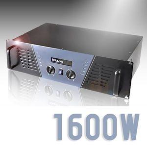AMPLI PUISSANCE amplificateur DJ 1600W mosfet pro rack stereo