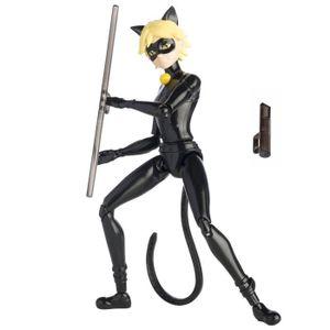 FIGURINE - PERSONNAGE Figurine Chat noir LADYBUG MIRACULOUS super articu