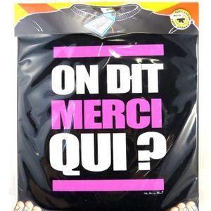 T-SHIRT Les Trésors De Lily [M5156] - T-shirt On dit Merci
