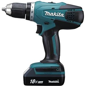 PERCEUSE Makita DF457DWE Perceuse-Visseuse + 2 batteries 18