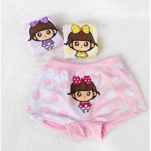 BOXER - SHORTY VOLIBEAR® Lot de 3 filles coton Culottes Bébé Enfa