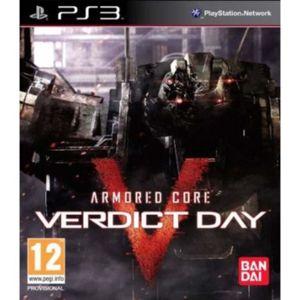 JEU PS3 Armoured Core: Verdict Day (Playstation 3) [UK IMP