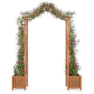 ARCHE Luxueux Magnifique- Arche de jardin avec jadinière