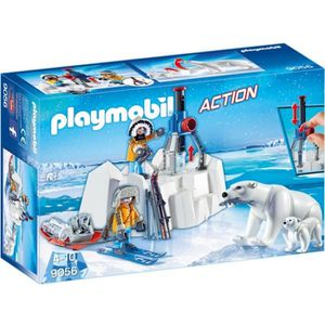 UNIVERS MINIATURE PLAYMOBIL 9056 - Action - Explorateurs avec Ours P