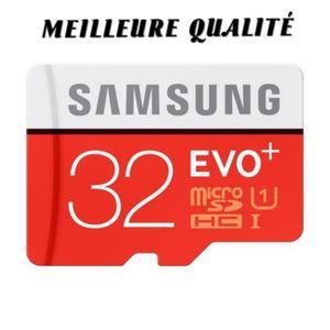 CARTE MÉMOIRE Carte Mémoir Samsung Evo Plus 32 Go Micro sd SDHC