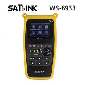 RÉCEPTEUR - DÉCODEUR   Satlink WS-6933 Écran LCD 2,1 pouces DVB-S2 FTA C