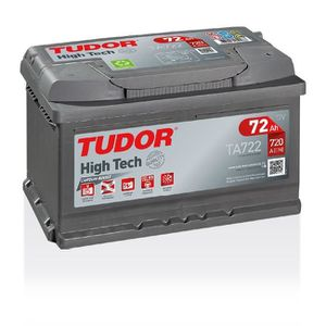 BATTERIE VÉHICULE Batterie HIGH TECH TUDOR TA722 12V 72Ah 720A 278 x