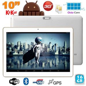 TABLETTE TACTILE Tablette 3G 10 pouces Octa Core 2GHz 2Go RAM Andro