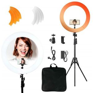 LAMPE ESCLAVE - FLASH 18'' Ring Light avec trépied