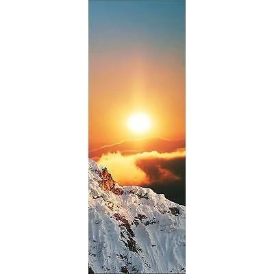 Affiche poster montagne réf 14 3 dimensions, papier mat ou papier photo