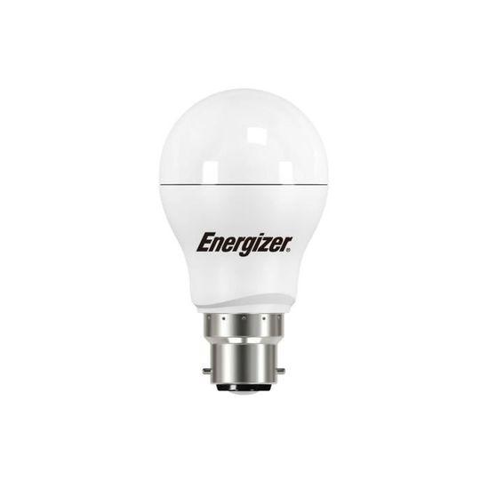 2700k 6 x Energizer 5.9 W = 40 W DEL balle baïonnette Cap Opale extra blanc chaud