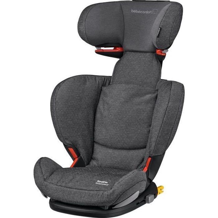 BEBE CONFORT Siège auto Rodifix AirProtect Groupe 2/3, De 3,5 ans à 12 ans - Isofix - Sparkling Grey
