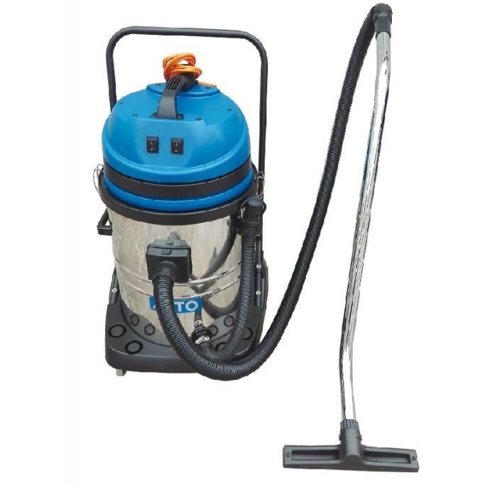 Nilfisk Alto – Aspirateur eau et poussière 55L 2x1200W (2moteurs) – MAXXI 255 METAL