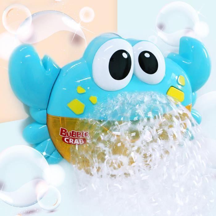 Machine à bulles Big Crab automatique Bubble Maker Blower Music Bath Toy pour bébé Jeux de cour de récréation 1