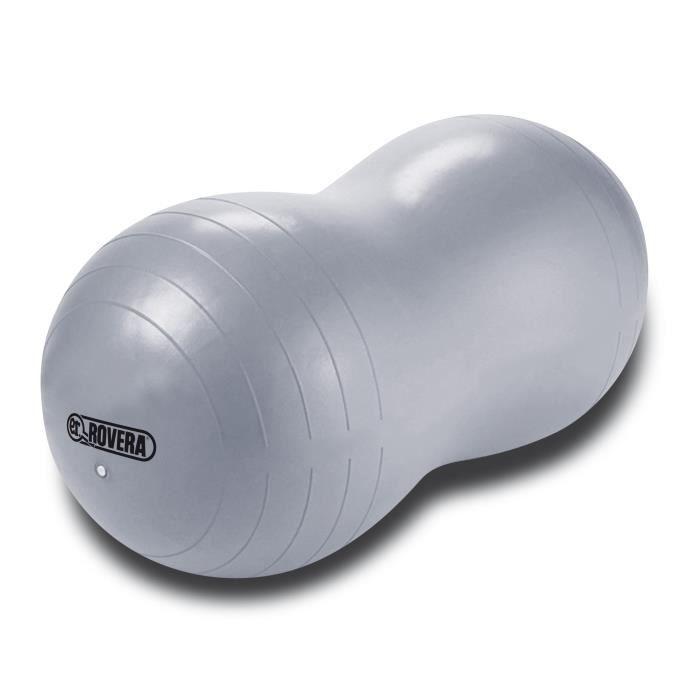 Rovera Peanut Ballon Pilates Ovale, Gris, Taille Unique