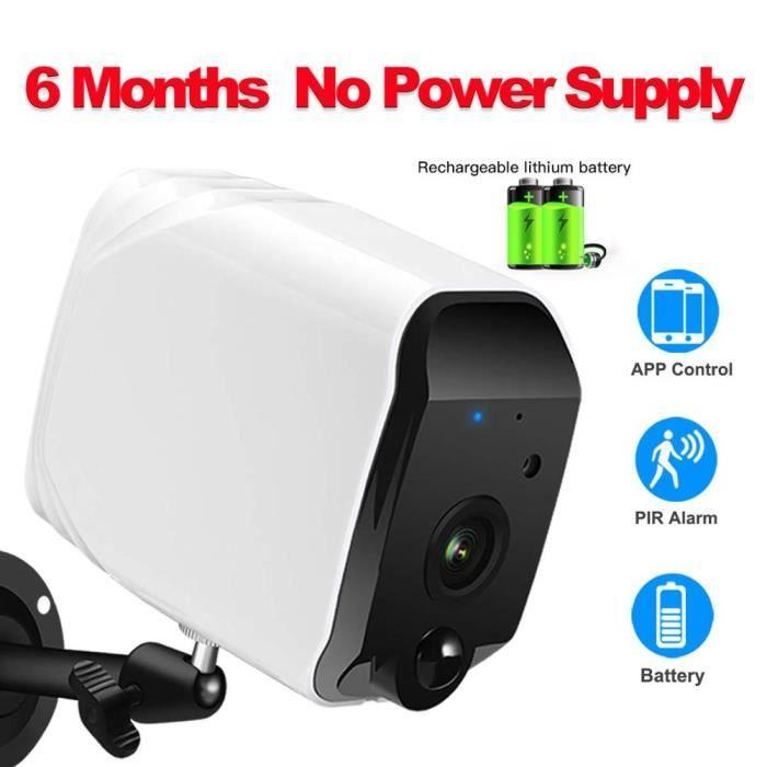 BABY PHONE - ECOUTE BEBE,Caméra de sécurité sans fil, caméra de batterie WiFi 1080P avec Audio - Type IP camera only