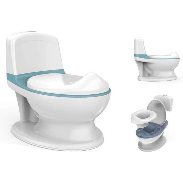 Pot pour bébés et enfants My First Toilet avec poussoir interactif
