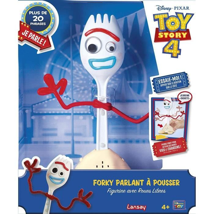 LANSAY Toy Story 4 Figurine interactive personnage électronique Forky 23 cm environ